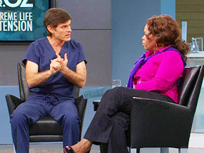 Dr. Oz says calorie restriction is the number one way doctors say we can extend longevity.