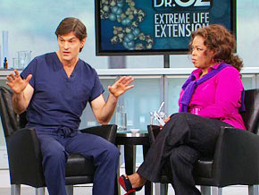Dr. Oz discusses resveratrol supplements, which may help people live longer.