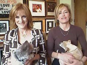 Carol Leifer and her life partner, Lori