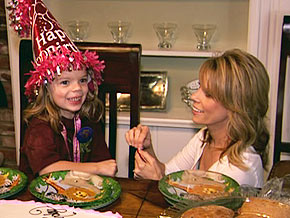 Cheryl Hines' daughter's 5th birthday party
