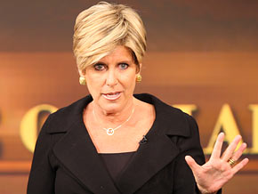 Suze Orman challenges you to live on half your salary.