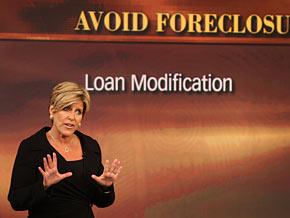 Suze Orman explains the government's mortgage assistance program.
