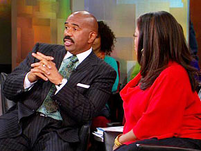 Steve Harvey shares a dating secret with single women.