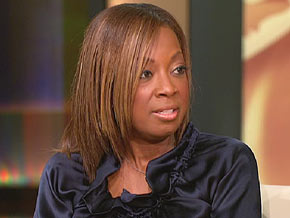 Star Jones says she gained 75 pounds in one year.