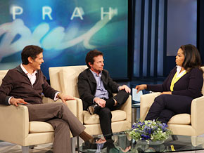 Michael J. Fox tells Oprah and Dr. Oz how Parkinson's has affected his life.