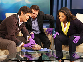 Michael J. Fox and Dr. Oz discuss scientific advancements and stem cell research.