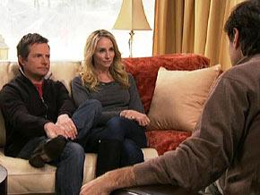 Michael J. Fox calls his wife, Tracy Pollan, his rock.