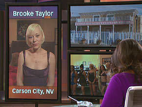 Brooke Taylor says she doesn't plan to work at the bunny ranch past 30.