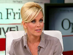 Jenny McCarthy says Jim Carrey lets out his silly side when he's telling stories.