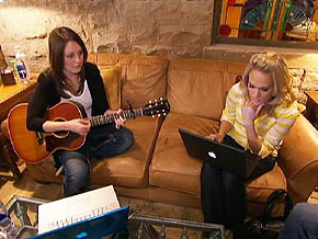Carrie Underwood on songwriting
