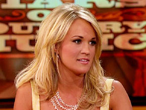 Carrie Underwood talks about dating.