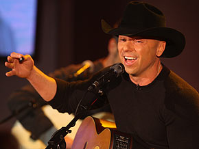 Kenny Chesney is an eight-time Entertainer of the Year.