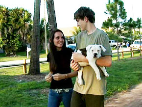 Courtney and Pierce