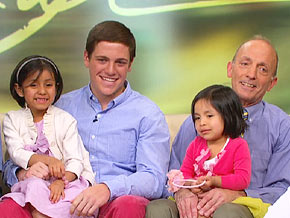 Larry Shine says being a father comes naturally to him.