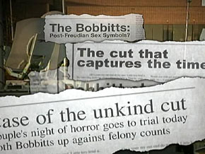Lorena Bobbitt's trial played out for weeks on TV.