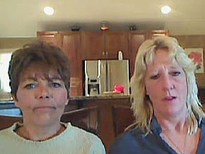 Marilyn Mock and Tracy Orr