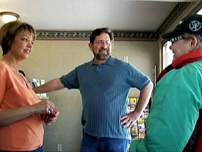 Tim Nicolai, and his wife, Nancy, at the Arena Motel