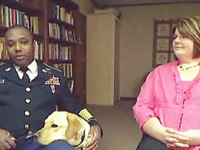 Sgt. Allen Hill, Frankie and Gina