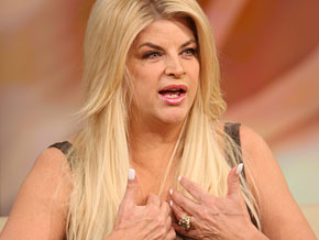 Kirstie Alley says gaining weight back is humiliating.