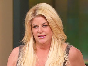 Kirstie Alley is developing her own line of weight loss products.