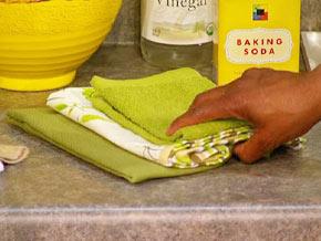 Reusable cloth dishtowels