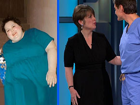 Kim lost 164 pounds.