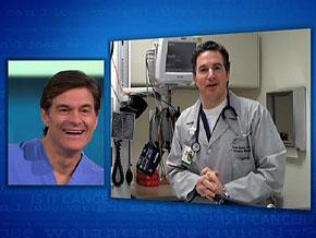 Dr. Aaron Epstein thanks Dr. Oz.