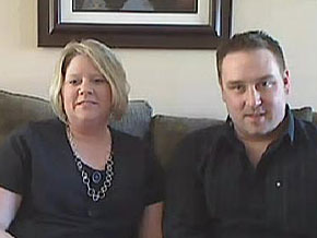 Marcy and her husband, Scott