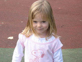 Three-year-old Madeleine McCann seemed to vanish into thin air.