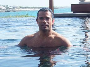 Mark Consuelos in Turks and Caicos
