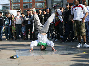 George Sampson has wowed the world with his dance moves.