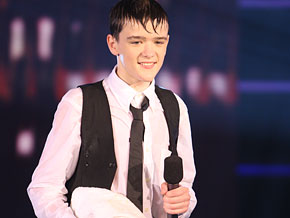 George Sampson has a ton of female admirers.