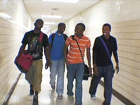 Jaiquann, Elijah and twins Darien and Barien