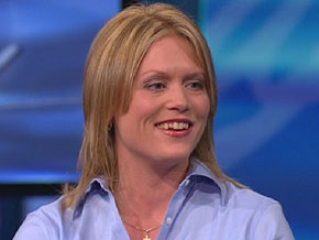Stacey Lannert says she is still adjusting to her life of freedom.