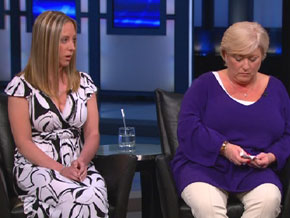 Jennifer Sheehan says she witnessed her mother's abuse.