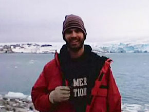 Neal in Palmer Station, Antarctica