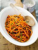 Crisp Carrot Salad with Currants