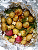 Adam Perry Lang's New Potatoes with Old Bay and Dill