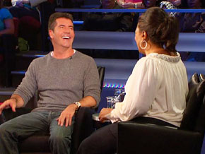 Simon Cowell can spot the it factor right away.