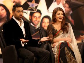 Aishwarya Rai and Abhishek Bachchan on kissing scenes and work ethic