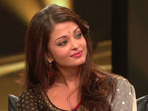 Aishwarya Rai and Abhishek Bachchan talk about living at home with his parents.