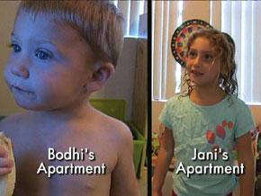 Inside Jani Schofield's apartment