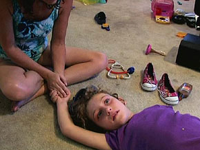 Jani Schofield was 5 years old when she became violent.