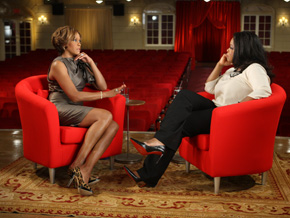 Whitney Houston on drugs and whether Bobby Brown abused her.