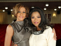 Whitney Houston and Oprah