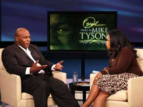 Mike Tyson talks about his first wife, actress Robin Givens.