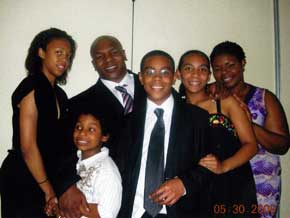Mike Tyson's family