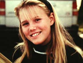 Jaycee Dugard as a child