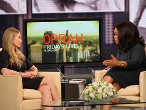 Lisa Niemi and Oprah