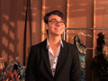 Backstage with Christian Siriano